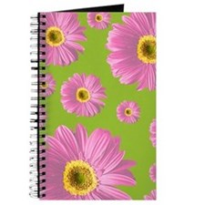 Pop Art Pink Daisy Journal