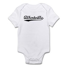 Vintage Albertville (Black) Infant Bodysuit