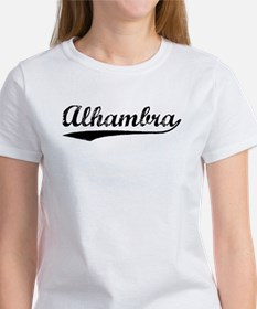 Vintage Alhambra (Black) Women's T-Shirt