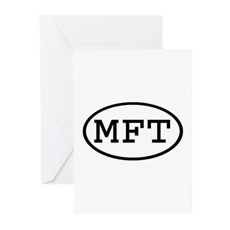 MFT Oval Greeting Cards (Pk of 20)