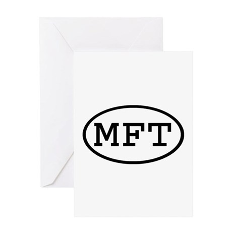 MFT Oval Greeting Card