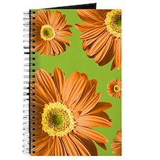 Pop Art Orange Daisy Journal
