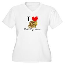 I Love Ball Pythons T-Shirt