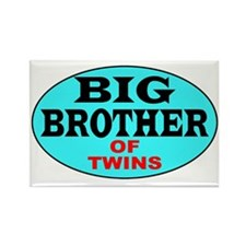 Big Brother of Twins Rectangle Magnet