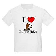 I Love Bald Eagles T-Shirt