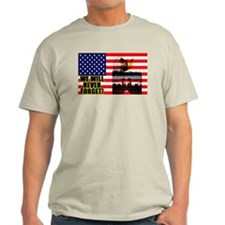 """""""We Will Never Forget!"""" Color T-Shirt"""