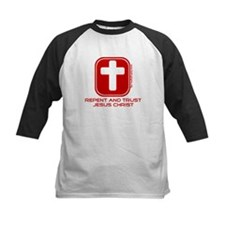 Repent And Trust (with Cross) Tee