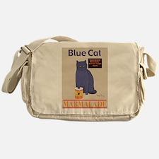Blue Cat Marmalade Messenger Bag