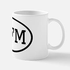 MFM Oval Mug