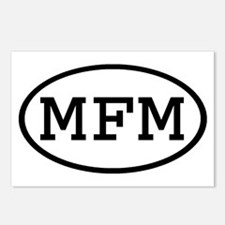 MFM Oval Postcards (Package of 8)