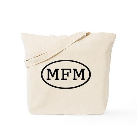 MFM Oval Tote Bag