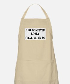 Whatever Bubba says BBQ Apron