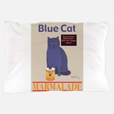 Blue Cat Marmalade Pillow Case
