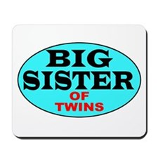 Big Sister of Twins Mousepad