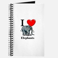 I Love Asiatic Elephants Journal