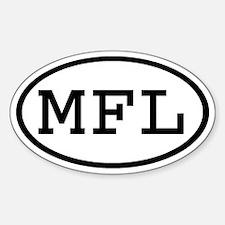 MFL Oval Oval Decal