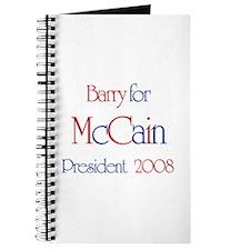Barry for McCain 2008 Journal