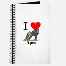 I Love Apes Journal