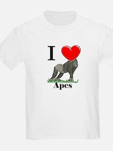 I Love Apes T-Shirt