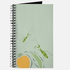 Praying Mantis Persimmon Journal