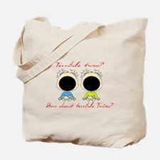 Terrible Twos/Twins Tote Bag