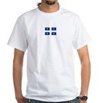 QUEBECOIS [French-Canadian] F White T-Shirt