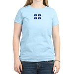 QUEBECOIS [French-Canadian] F Women's Pink T-Shirt