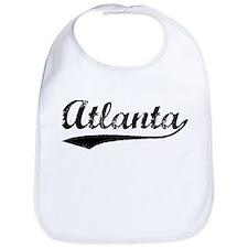 Vintage Atlanta (Black) Bib