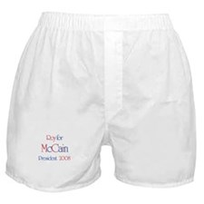 Roy for McCain 2008 Boxer Shorts