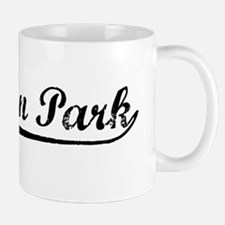 Vintage Baldwin Park (Black) Mug