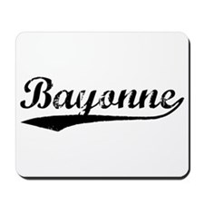 Vintage Bayonne (Black) Mousepad