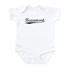 Vintage Beaumont (Black) Infant Bodysuit