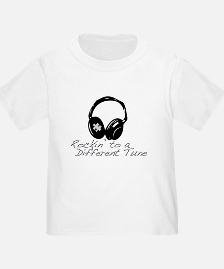Rockin to a Different Tune Silver T-Shirt