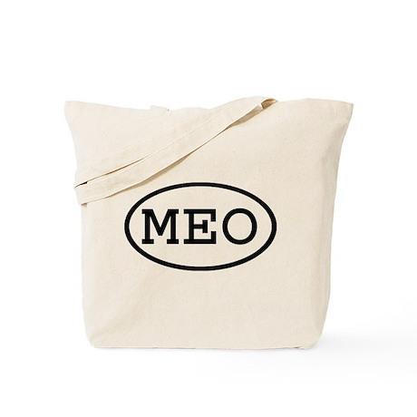 MEO Oval Tote Bag