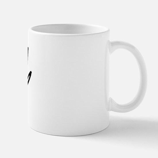 Vintage Bend (Black) Mug