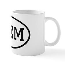 MEM Oval Mug