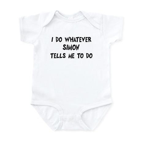 Whatever Simon says Infant Bodysuit