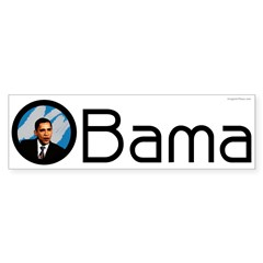 Obama Big O Bumper Bumper Sticker