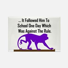 Against the Rule Rectangle Magnet (100 pack)