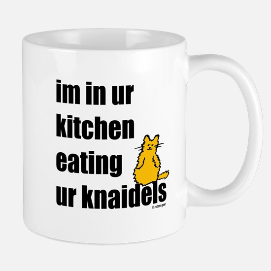 Cat and Knaidels Mug