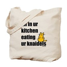 Cat and Knaidels Tote Bag