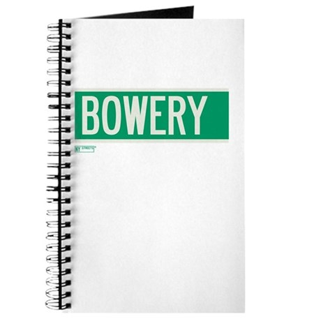 Bowery in NY Journal