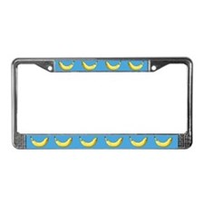 Banana License Plate Frame