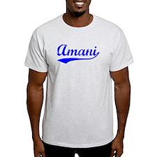 Vintage Amani (Blue) T-Shirt