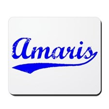 Vintage Amaris (Blue) Mousepad