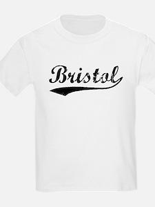 Vintage Bristol (Black) T-Shirt