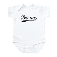 Vintage Bronx (Black) Infant Bodysuit