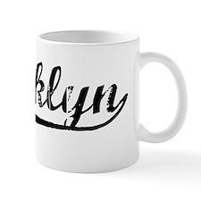 Vintage Brooklyn (Black) Mug