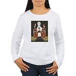 Vintage Queen of Hearts Women's Long Sleeve T-Shir