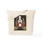 Vintage Queen of Hearts Tote Bag